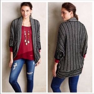 Anthropologie MOTH Maija cocoon sweater sz small